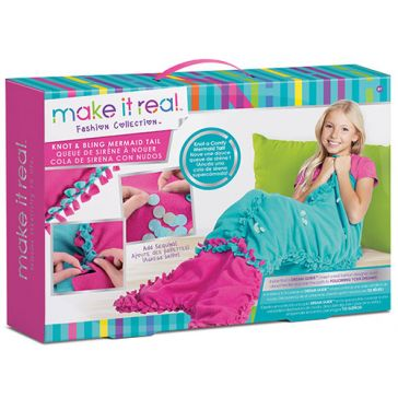 Make It Real Knot & Bling Mermaid Tail Craft Kit 1503