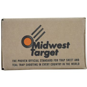 Midwest Target 90 Count Orange Dome Clay Birds