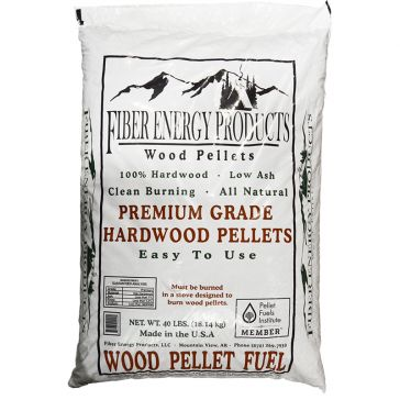 Ozark Hardwood 40lb Bag Wood Pellets for Stoves/Furnaces