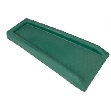 Amerimax Plastic Gutter Downspout Splash Block Green