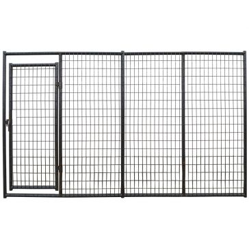 Applegate Heavy Duty Mesh Welded Wire Dog Kennel Panel w/ Door 10'x6'