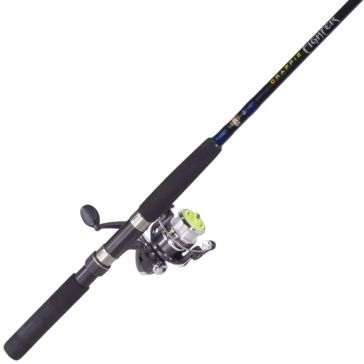 Zebco Crappie Fighter Combo Micro Spincast Rod 10' CRFUL103L,04NS4