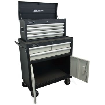 Homak Pro Series 2-Piece 7-Drawer Combo Tool Chest 33""