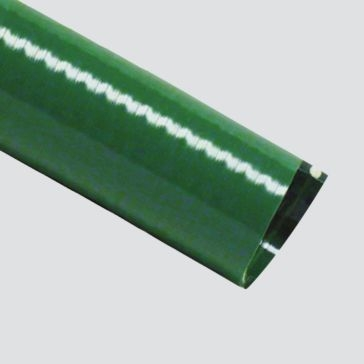 "Apache 3"" Green PVC Suction Hose"