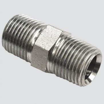 """Apache Style 5404 3/4"""" Male Pipe Thread x 3/4"""" Male Pipe Thread Hydraulic Adapter"""