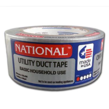 National 1.89in x 40yd Utility Silver Duct Tape