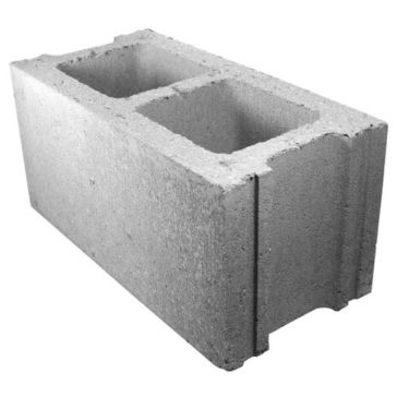Midwest Block & Brick 8x8x16in Concrete Block