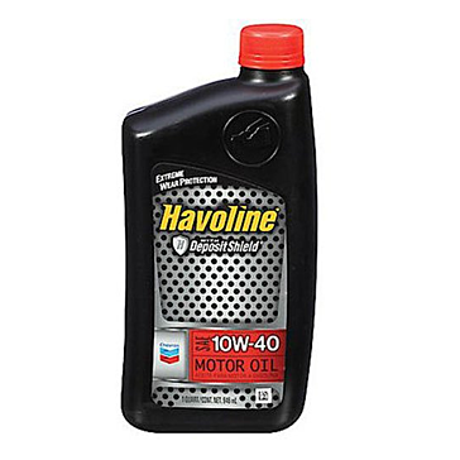 Havoline 10W-30 Motor Oil - 1 qt