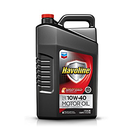 Havoline 10W-40 Motor Oil - 5 qt