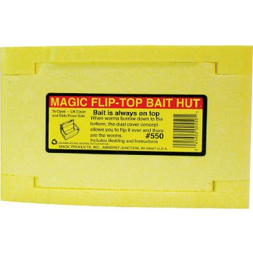 Magic Flip-Top Bait Hut