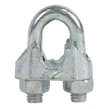 "Koch Industries 1/4"" Wire Rope Clip"