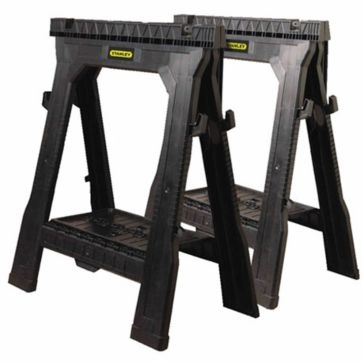 Stanley Portable Folding Sawhorse 2-Pack 060864R