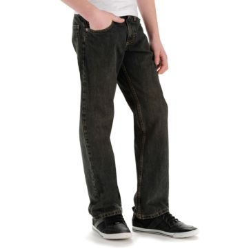 Boys Relaxed Fit Straight Leg Jeans