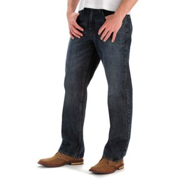 Mens Relaxed Fit Straight Leg Jeans Calypso