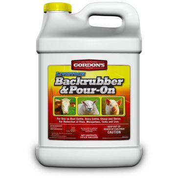 Gordon's Livestock Backrubber & Pour-On 2.5Gal