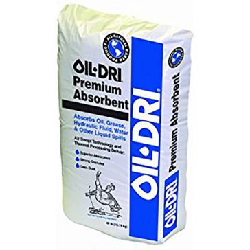 Oil Dri Premium Granular Absorbent 50lb Poly Bag