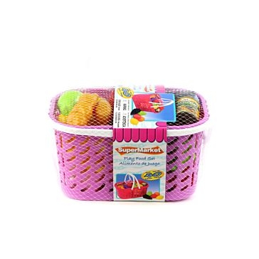 Gi-Go Toys Play Food Basket Assorted