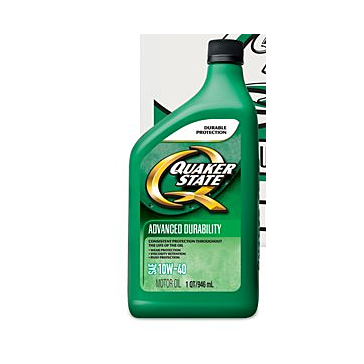 Quaker State 10W-30 Advanced Durability Motor Oil - 1 Quart
