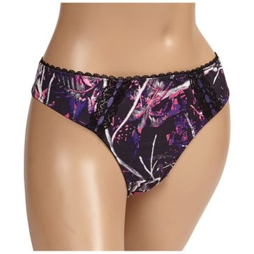 Wilderness Dreams Thong Purple Camo