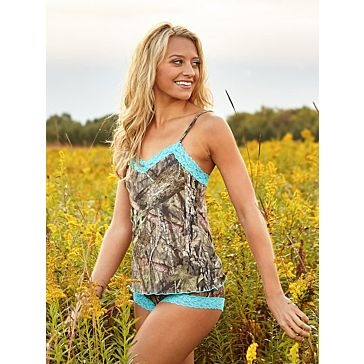 Wilderness Dreams Break Up Country Aqua Camisole