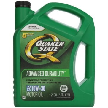 Quaker State 10W-30 Advanced Durability Motor Oil 5 Qt