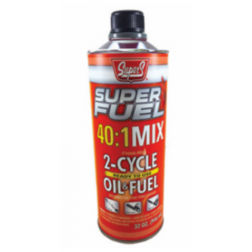 Super Fuel 2‑cycle Oil/fuel 40:1 Mix, 1 Qt.