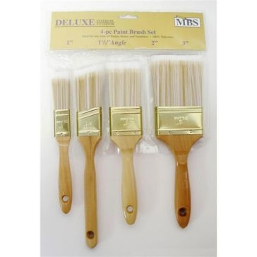 MBS Assorted Paint Brush Set 4PC
