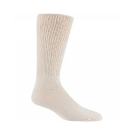 Railroad Sock Mens Therapeutic Socks 2 Pair Natural Size 10-13 991NA