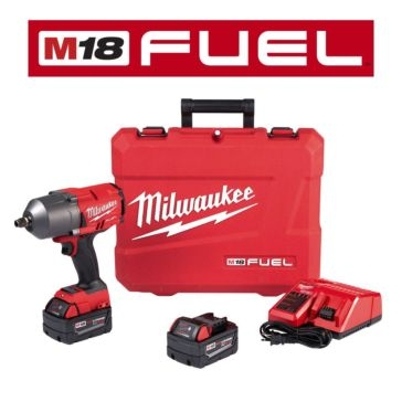 """Milwaukee M18 FUEL™ High Torque ½"""" Impact Wrench with Friction Ring Kit 2767-22"""
