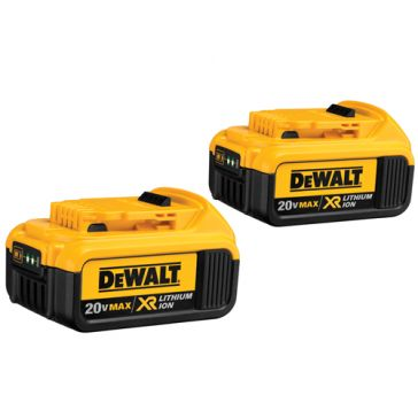 Dewalt 20V MAX Premium XR Li-Ion 2-Pack DCB204-2