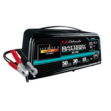 Schumacher 10/30/50A 12V Automatic Battery Charger w/ Engine Start SE-1250