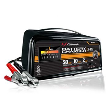 Schumacher 1/10/50A 12V Manual Battery Charger with Engine Start SE-1052