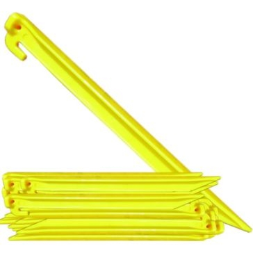 Texsport 9-inch Yellow Plastic Tent Stakes