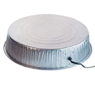Farm Innovators 125W Heated Base for Metal Poultry Founts