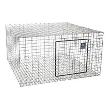 "Pet Lodge 24""x 24""x16"" Rabbit Hutch AH2424"
