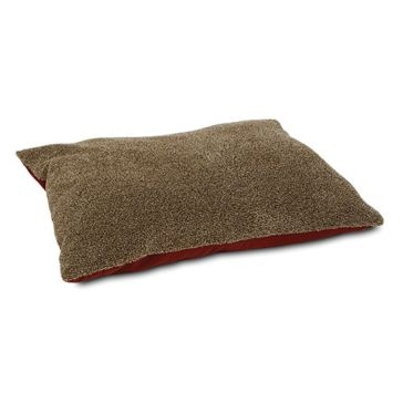 Aspen Pet Flecked Fur Pillow Bed 28381 Asst.