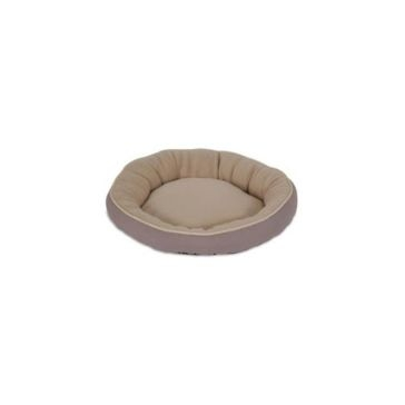 Aspen Pet Round Bed With Bolster & Gold Cord 28375 Asst.