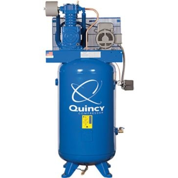 Quincy Compressor 80Gal 5HP Two Stage Upright Air Compressor