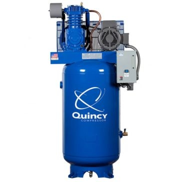 Quincy QT- 7.5 80 Gallon 7.5 HP Two-Stage Air Compressor