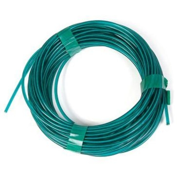 Koch Industries Green Vinyl Coated Wire Clothesline 50ft