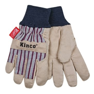 Kinco Youth Lined Ultra Suede With Knit Wrist Gloves