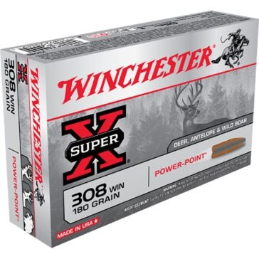 Winchester Super-X 308 Winchester 180 GR Power-Point