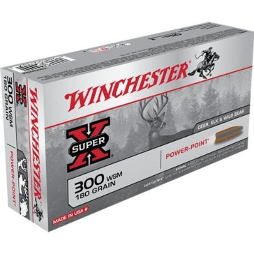 Winchester Super-X 300 WSM 180 GR Power-Point