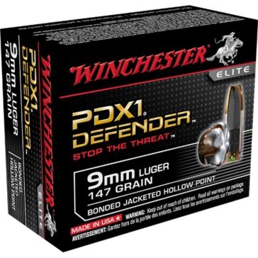 Winchester Elite PDX1 Defender 9mm Luger 147 GR