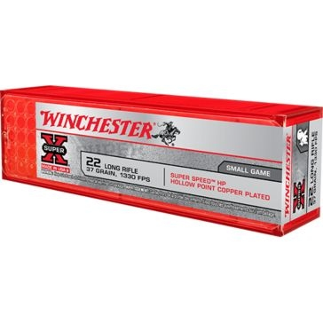 Winchester Super-X Super Speed HP 22 Long Rifle 37 GR.
