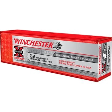 Winchester Super-X Super Speed 22 Long Rifle 40 GR.