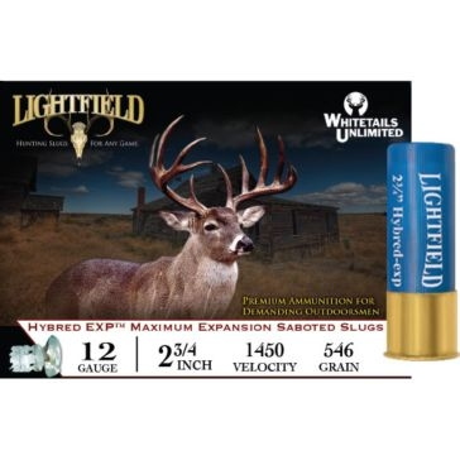 "Lightfield Hybred EXP Saboted Slugs 12ga 2-3/4"""