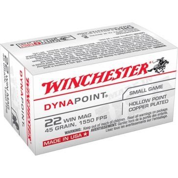 Winchester Dynapoint 22 Win Mag 45 GR HP