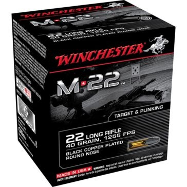 Winchester M22 22 Long Rifle 40 GR.