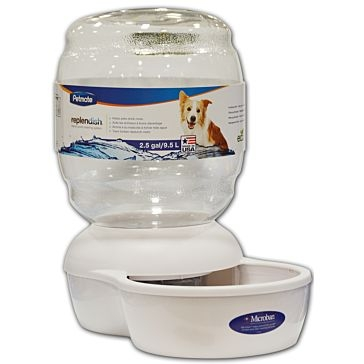 Petmate Replendish Gravity Pet Waterer 2.5 Gallon